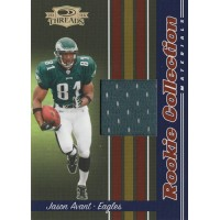 Jason Avant 2006 Donruss Threads Rookie Collection Materials Card #RCM-16 /500