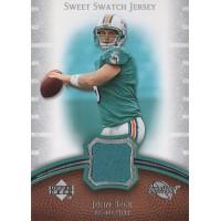 John Beck Dolphins 2007 Upper Deck Sweet Spot Sweet Swatch Jersey Card #SS-JB