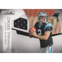 Jimmy Clausen 2010 Panini Rookies & Stars Cross Training Materials Card #3 /299