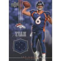 Jay Cutler Denver Broncos 2008 Upper Deck Team Colors Card #TC-JC