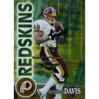 Stephen Davis Redskins 2000 Topps Finest Card #38 Special Olympics Nevada 1/1