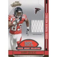 Harry Douglas 2008 Absolute Memorabilia NFL Rookie Jersey Collection Card #8