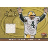 Brett Favre Green Bay Packers 2005 Fleer Ultra TD Kings Jersey Card #TK/BF
