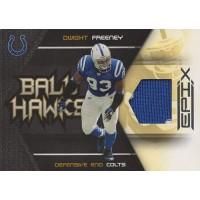 Dwight Freeney Colts 2010 Panini Epix Ball Hawks Materials Card #10 /140