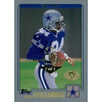 Joey Galloway Cowboys 2001 Topps Collection Card #7 Special Olympics Nevada 1/1