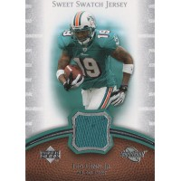 Ted Ginn Jr. Miami Dolphins 2007 Upper Deck Sweet Swatch Jersey Card #SS-TG