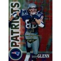 Terry Glenn NE Patriots 2000 Topps Finest Card #94 Special Olympics Nevada 1/1