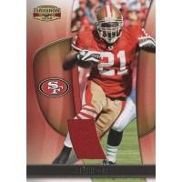 Frank Gore San Francisco 49ers 2009 Donruss Gridiron Gear Jersey Card #34 /225