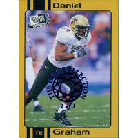 Daniel Graham 2002 Press Pass JE Old School Card #OS15 The Gem Collection 1/1