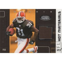 William Green Browns 2002 Fleer Hot Prospects Hot Materials Card  #HM-WG