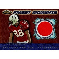Marvin Harrison Indianapolis Colts 2000 Topps Finest Moments Jersey Card #MH-WR