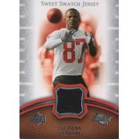 Joe Horn Atlanta Falcons 2007 Sweet Spot Sweet Swatch Jersey Card #SS-HO