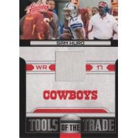 Sam Hurd 2011 Absolute Memorabilia Tools of the Trade Jersey Card #11 /250