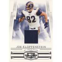 Joe Klopfenstein St. Louis Rams 2007 Donruss Threads Jersey Card #135 /250