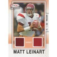 Matt Leinart 2006 SAGE Game Exclusives Jerseys Football Card #MLJ