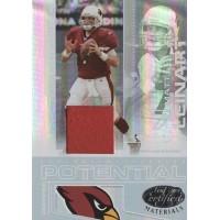 Matt Leinart Cardinals 2007 Leaf Certified Materials Potential Card #CP-13 /250