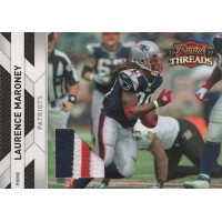 Laurence Maroney Patriots 2010 Panini Threads Jersey Prime Card #85 /50
