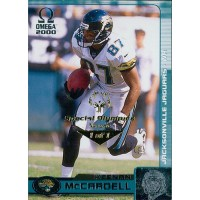 Keenan McCardell Jags 2000 Pacific Omega Card #64 Special Olympics Nevada 1/1