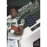 Joe McKnight New York Jets 2010 Epix Rookie Campaign Materials Card #11 /499
