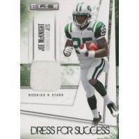 Joe McKnight Jets 2010 Rookies and Stars Dress for Success Jerseys Card #30 /299