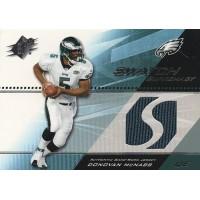 Donovan McNabb Eagles 2004 Upper Deck SPX Swatch Supremacy Jersey Card #SW-DO