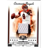 Carson Palmer Cincinnati Bengals 2006 Donruss Threads Jersey Card #146 /189