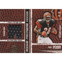 Chris Perry Bengals 2004 Playoff Hogg Heaven Rookie Premiere Card #160 /750