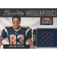 Austin Pettis 2011 Panini Threads Rookie Collection Materials Card #4 /299