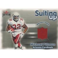 Michael Pittman Arizona Cardinals 2001 Fleer Premium Suiting Up Card