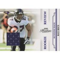 Ray Rice Baltimore Ravens 2009 Panini Playoff Prestige Jersey Card #47