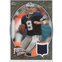 Tony Romo Dallas Cowboys 2008 Upper Deck Football Heroes Jersey Card #91