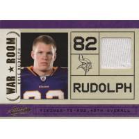 Kyle Rudolph Vikings 2011 Absolute Memorabilia War Room Materials Card #15