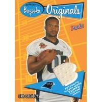 Eric Shelton Carolina Panthers 2005 Topps Bazooka Originals Jersey Card #BO-ES