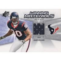 Mario Williams Texans 2006 Upper Deck SPX Rookie Winning Materials Card #WMR-MW