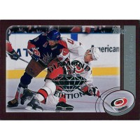 Rod Brind'Amour Hurricanes 2002-03 Topps Factory Set Gold Card #130 Diamond 1/1