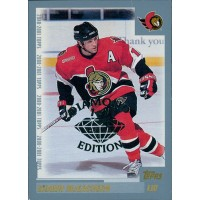Shawn McEachern Senators 2000-01 Topps Card #160 Diamond Edition 1/1