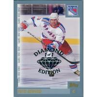 Petr Nedved New York Rangers 2000-01 Topps Card #80 Diamond Edition 1/1