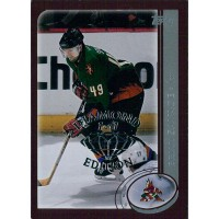 Brian Savage Coyotes 2002-03 Topps Factory Set Gold Card #120 Diamond 1/1