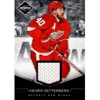 Henrik Zetterberg Detroit Red Wings 2011-12 Panini Limited Materials Card #59 99