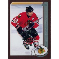 Alexei Zhamnov Blackhawks 2002-03 Topps Factory Set Gold Card #121 Diamond 1/1