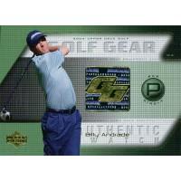 Billy Andrade 2004 Upper Deck Golf Gear Par Single Card #BA-GG