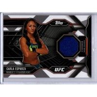 Carla Esparza 2015 Topps UFC Chronicles Worn Gear Relic Card #CR-CE