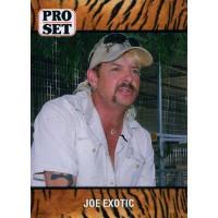 Joe Exotic Tiger King 2021 Leaf Pro Set Card #JE1