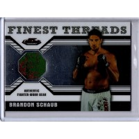Brandon Schaub 2011 UFC Finest Threads Worn Gear Card #R-BS