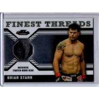 Brian Stann 2011 UFC Finest Threads Worn Gear Card #R-BST