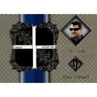 Tony Stewart Press Pass 2013 Total Memorabilia Card 017/199 #TM-TS