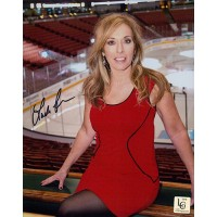 Linda Cohn Signed 8x10 Color Photo LCO Exclusive COA ESPN SPORTSCENTER