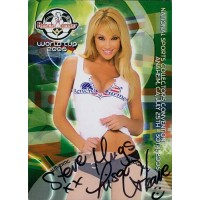 Lisa Gleave Signed 2006 Bench Warmer World Cup National Convention Card #4
