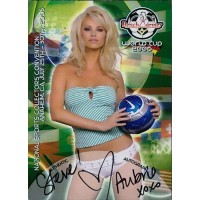 Aubrie Lemon Signed 2006 Bench Warmer World Cup National Convention Card #2