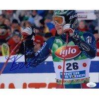 Bode Miller Olympic Alpine Ski Racer Signed 8x10 Glossy Photo JSA Authenticated